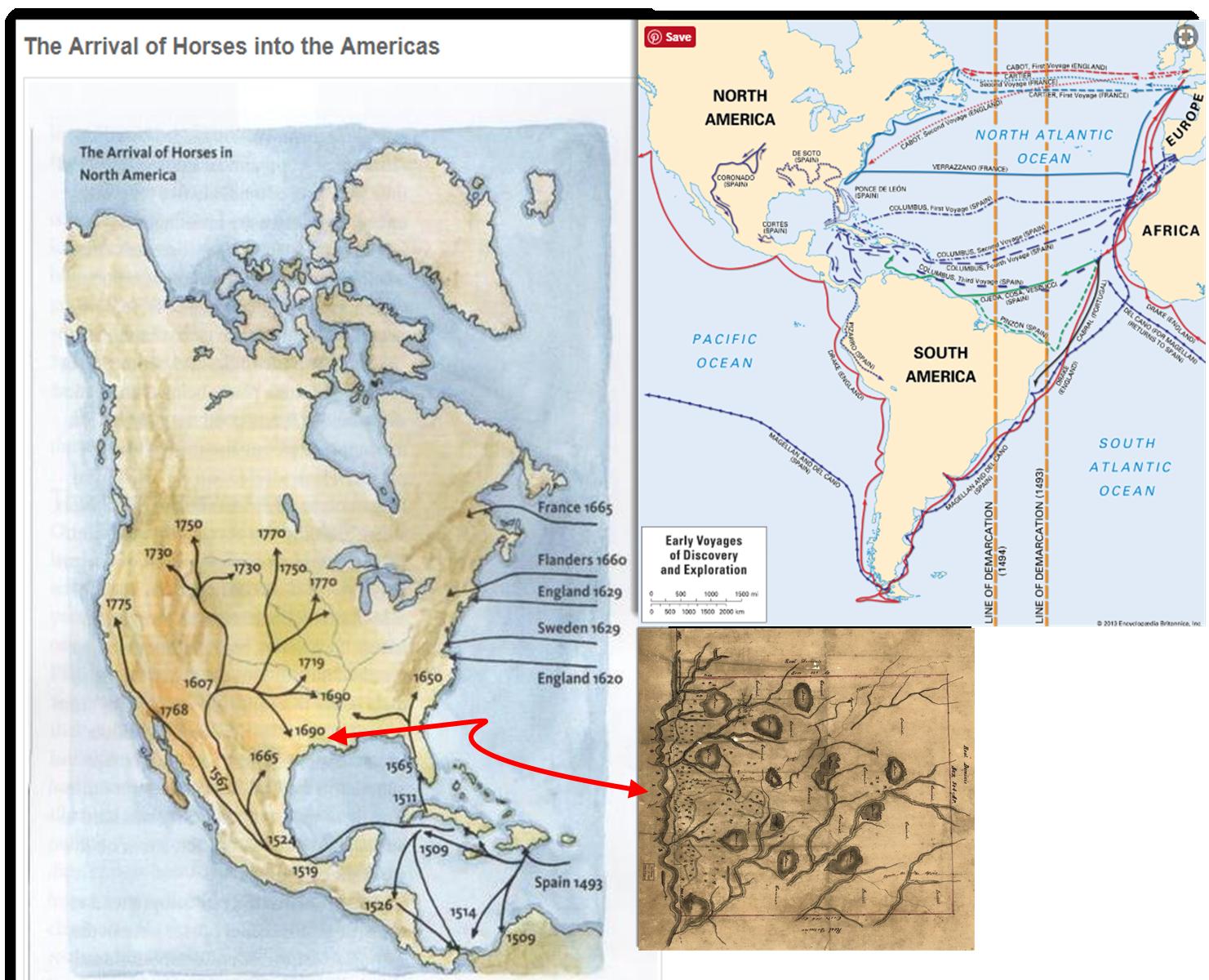 maps historical